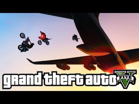 FLYING OPPRESSOR BIKE MOC MISSIONS! - GTA 5 Online Gunrunning DLC