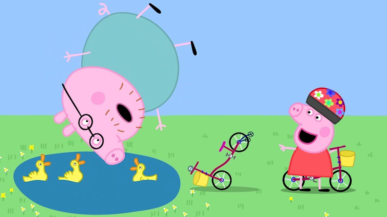 Peppa pig italiano il grande incidente del maiale di