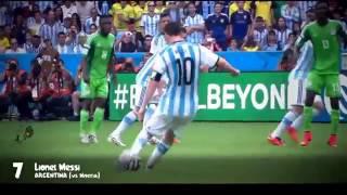 Top 10 buts marqués en Coupe du Monde 2014