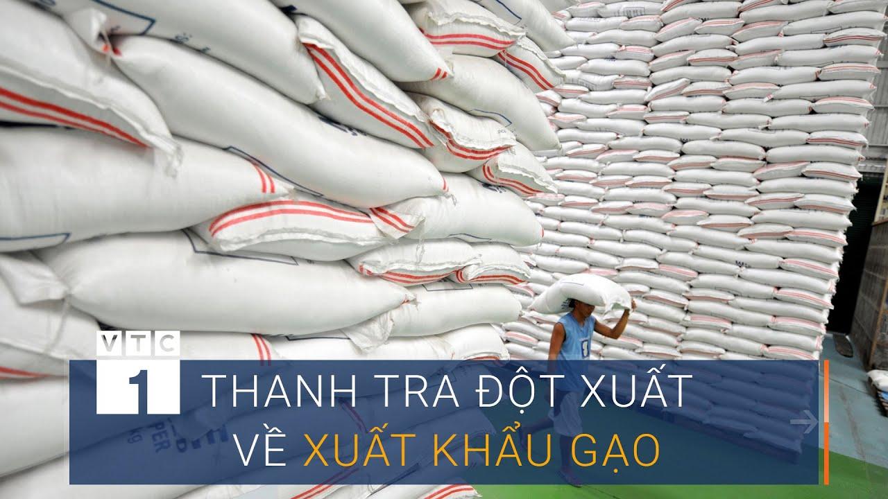 Chính phủ yêu cầu thanh tra đột xuất về xuất khẩu gạo | VTC1