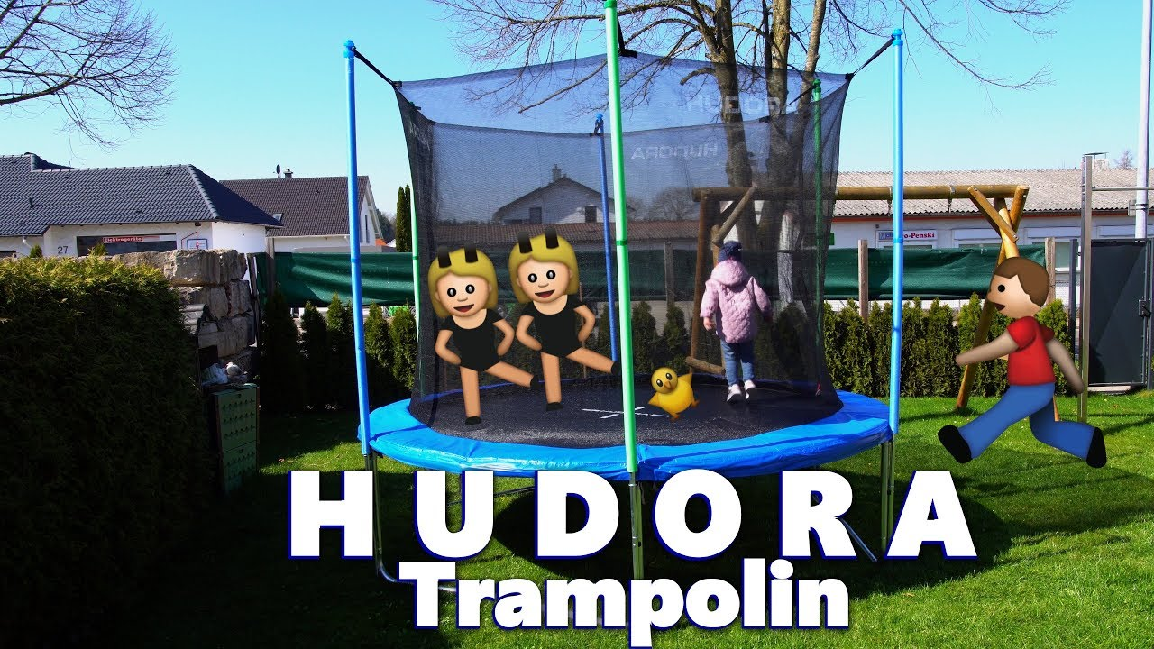 hundora trampolin 300 cm aufbauanleitung spa f r gro klein bis 150 kg. Black Bedroom Furniture Sets. Home Design Ideas