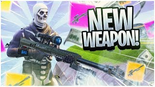 FORTNITE NEW HEAVY SNIPER UPDATE COUNTDOWN + GAMEPLAY LIVE! (FORTNITE NEW UPDATE)