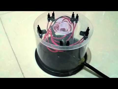 World's First Powerful CD Box Air Purifier, Ionizer, Ion Generator (DIY)