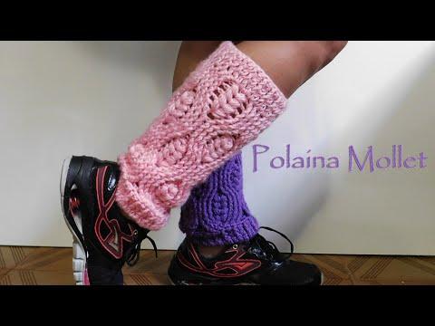 a2bbdda8a [Versão canhoto] Polaina Mollet | BYA FERREIRA. Bya Ferreira- Crochet  Designer