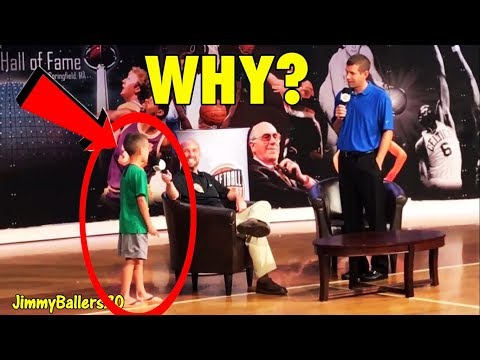 "Kid asks Brad Stevens ""Why did you trade Isaiah Thomas?"""