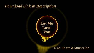 Let me love you (marimba remix) ringtone   download now like, comment, share and subscribe for more ringtones. link : remix...