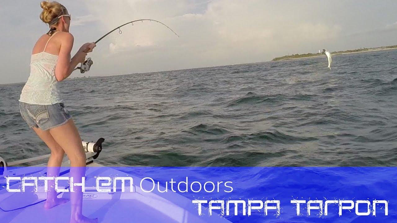 Tampa tarpon fishing tarpon fishing in tampa bay boca for Tarpon fishing tampa