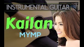 MYMP - Kailan instrumental guitar karaoke version cover with lyrics