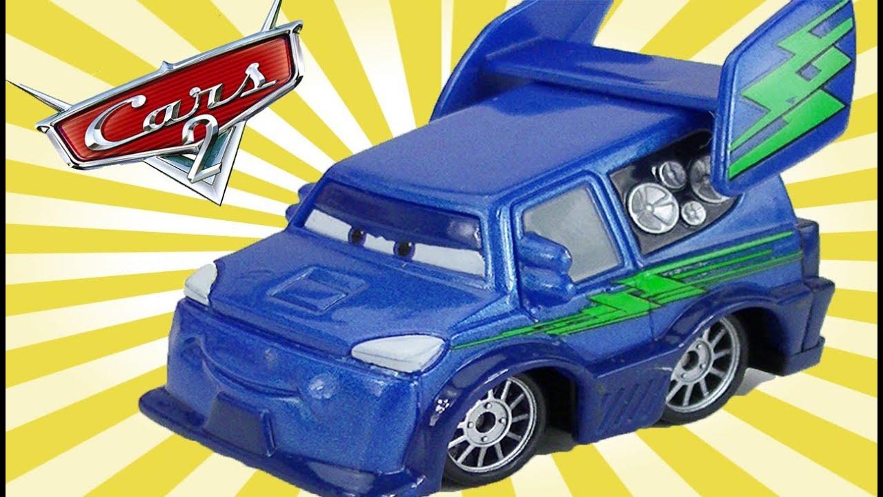 Cars 2 Disney Dj Mini Adventures Pixar Toy Review Lighting
