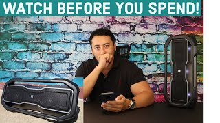 Unboxing and sound Test Altec Lansing RockBox XL Bluetooth Party Speaker