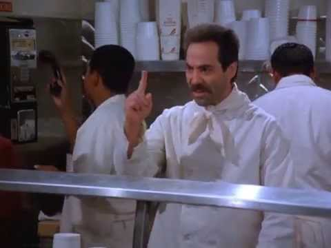 Seinfeld - No Soup For You! Come Back 1 Year!
