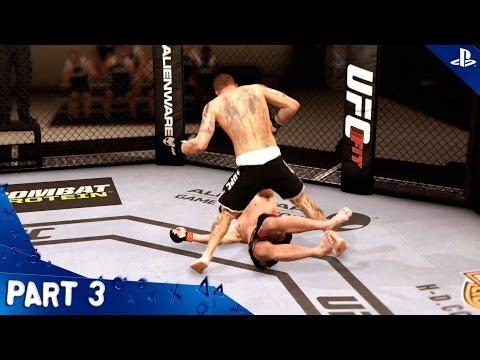EA Sports UFC - Walkthrough - Part 3 - Career   Henry Ross (PS4 HD) [1080p]