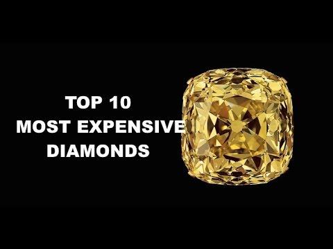 TOP 10 MOST EXPENSIVE DIAMONDS