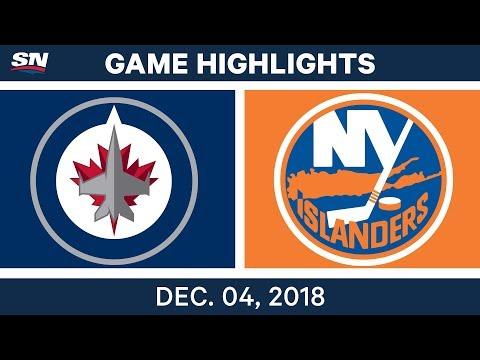 NHL Highlights | Jets vs. Islanders - Dec 4, 2018