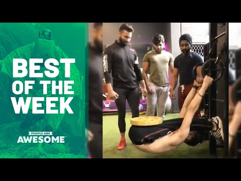Best of the Week: Weightlifting Contortion Skills & More   People Are Awesome