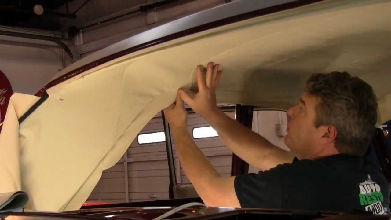 episode 96 part 2 ford hardtop coupe bow style headliner for fairlane and mustang autorestomod. Black Bedroom Furniture Sets. Home Design Ideas