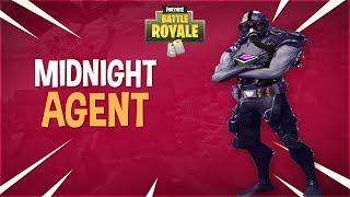 NEW MIDNIGHT AGENT FORTNITE SKIN! Myth & Ninja React to New Skin!