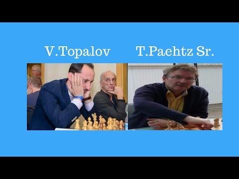 Topalov crushes GM Paehtz in 15 Moves! Gibraltar Chess Festival 2017