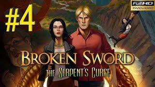 BROKEN SWORD 5 The Serpents Curse Walkthrough - Part 4 Gameplay 1080p