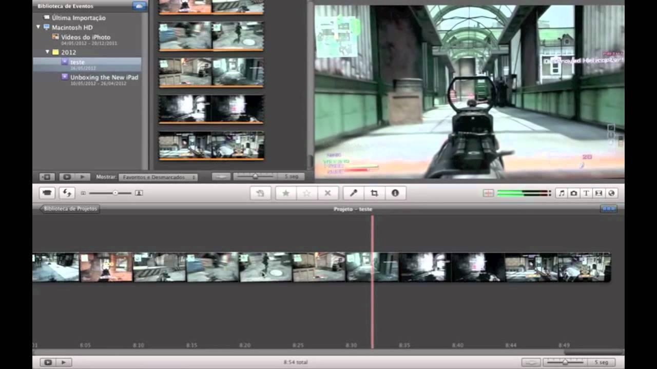 Editando Vídeos No Macbook Youtube