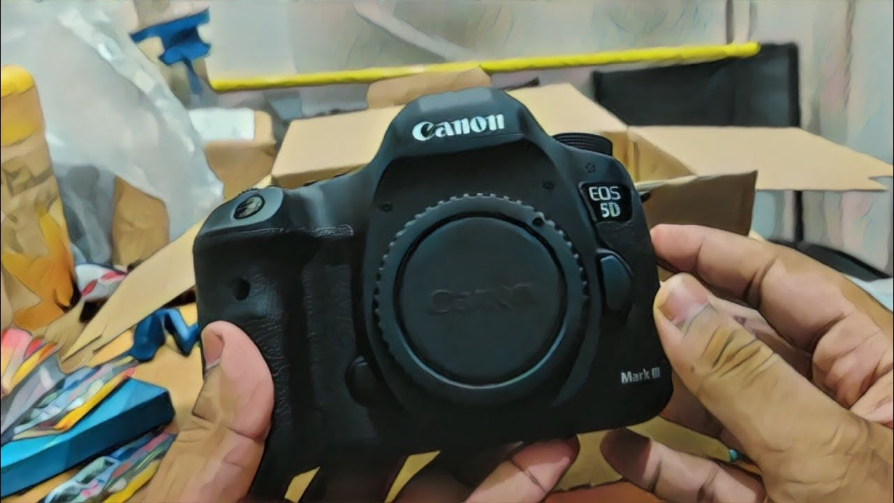 Canon 5d mark III Unboxing - Overview & For Sale | 2019 | Tamil