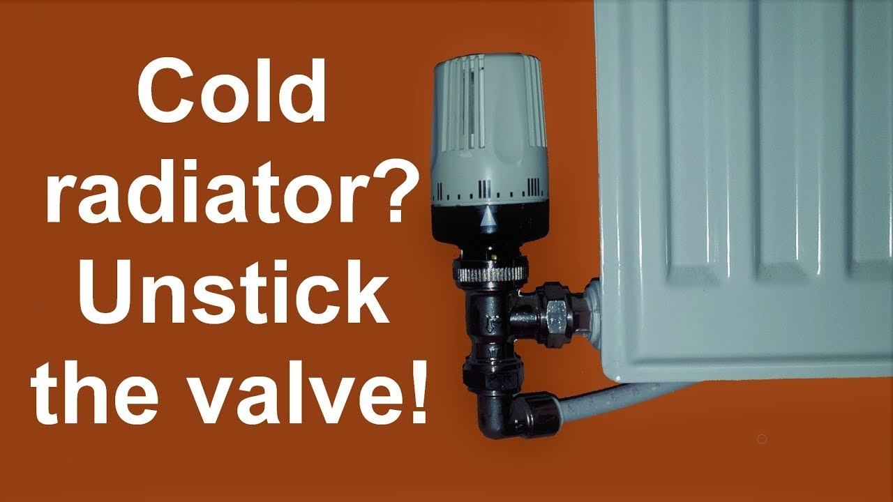 Radiator Doesn T Heat Up Unstick The Valve Youtube