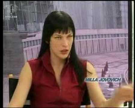 fashiontv | FTV.com - F MODELS IN FILM ULTRAVIOLET - MILLA JOVOVICH 2006