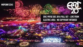 Eric Prydz - EDC 2016 - Electric Area - Live 17.06.2016