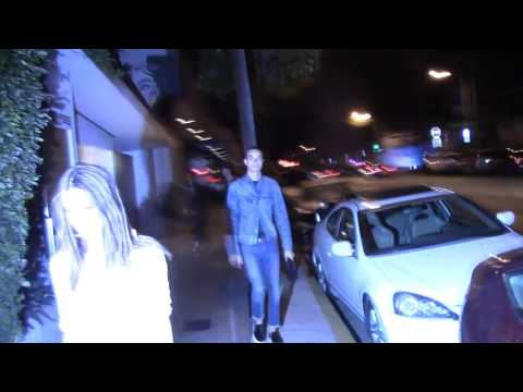 Emily Ratajkowski walking down Melrose Ave West Hollywood in a see thru outfit @emrata thumbnail
