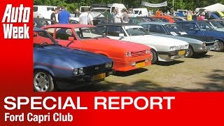 AutoWeek on Tour - Ford Capri Club