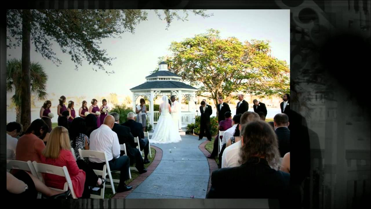 davis island garden club wedding tampa wedding photographer youtube - Davis Island Garden Club