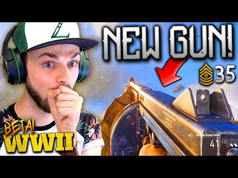 NEW GUNS, KILLSTREAKS + MAX RANK! - Call of Duty: WW2 Beta Gameplay *LIVE* w/ Ali-A!