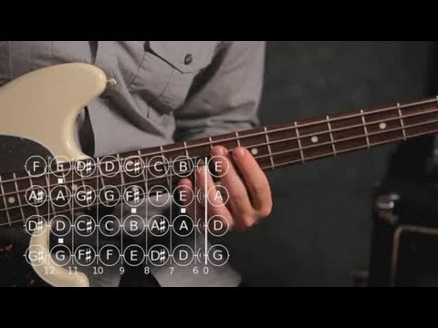 how-to-play-an-f-major-triad-|-bass-guitar