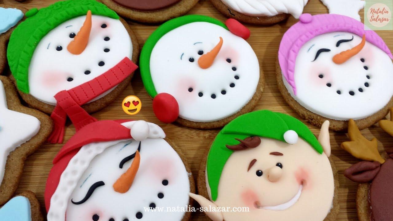 Como Decorar Galletas De Navidad Con Fondant