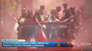 Gambar cover Raptors Victory Parade: Davido, Burna Boy on the beat at Toronto's biggest party in history