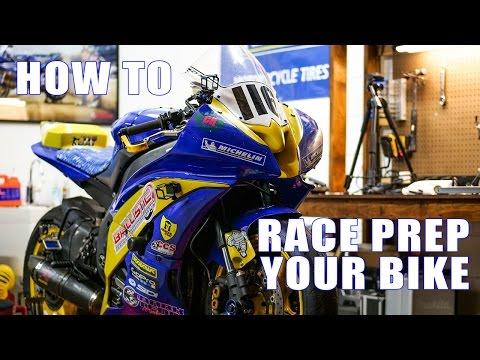 How to Prep a Race Bike