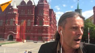 Oskar Freysinger à la parade de la Victoire à Moscou