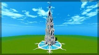 Minecraft: Timelapse #5: FANTASY ICE TOWER (MAPA CUSTOMIZADO)