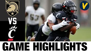 #22 Army vs #14 Cincinnati Highlights | Week 4 College Football Highlights | 2020 College Football