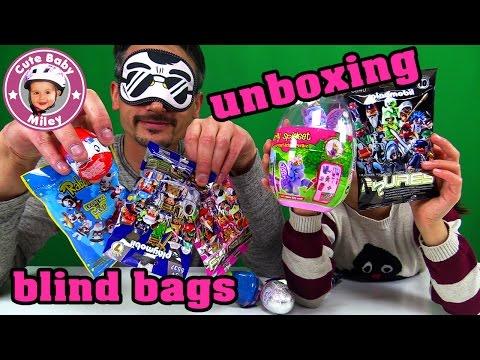 Überraschungseier und Blind Bags