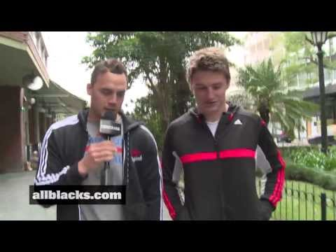 2013 Investec Rugby Championship - Kerr-Barlow and Barrett interview, Buenos Aires