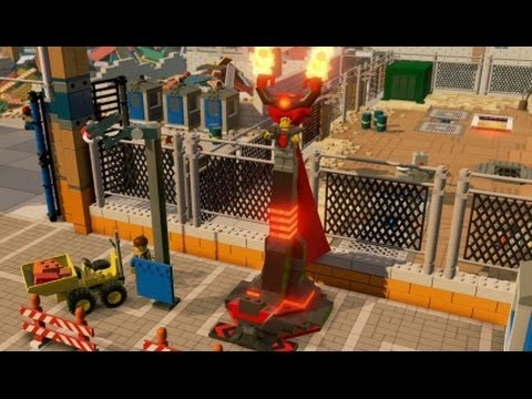 The LEGO Movie Videogame - Lord Business Unlocked + Free Roam in ...