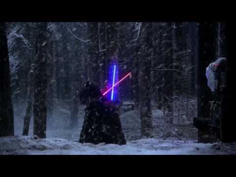 Star Wars The Force Awakens - Behind The Scenes - Making of The Snow Fight Part 3