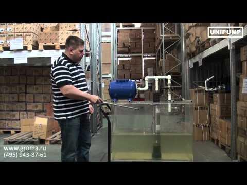 Насос ECO AUTOMAT: погружной скважинный колодезный