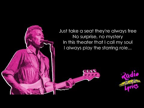 The Police - So Lonely (Lyrics)