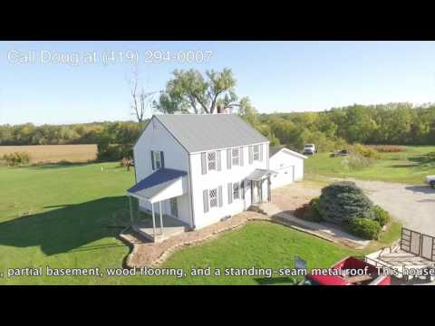 FARM FOR SALE! 375 EAST TOWNSHIP ROAD 132, TIFFIN, OHIO 44883 $198,500 HOME~BARNS~WOODED ACREAGE