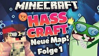 Minecraft HASSCRAFT Unter-Wasser Map! #01 | ungespielt