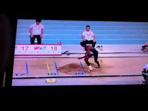 Christian Taylor 2011 triple jump world champion