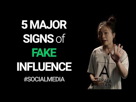 5 major signs of FAKE social media influence (the dark side of influencer marketing) | #ChiaExplains