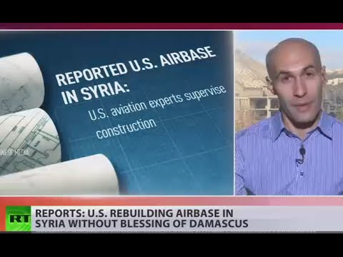 US reportedly rebuilds airbase in Syria without Damascus 'yes'